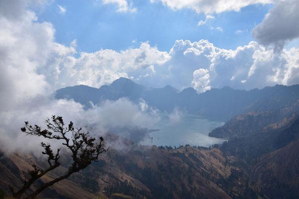 Het kratermeer van Gunung Rinjani