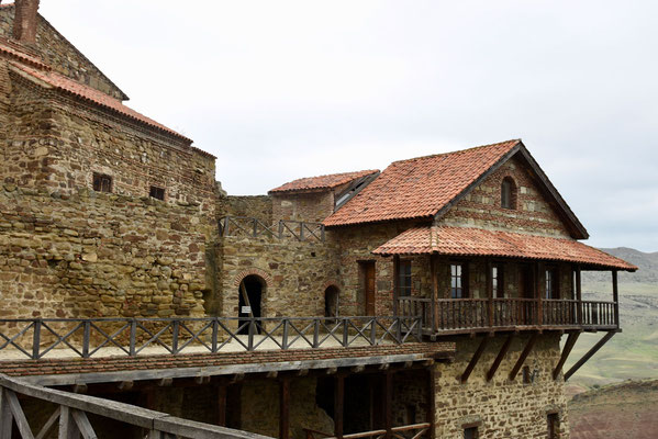 Het klooster wordt momenteel gerestaureerd