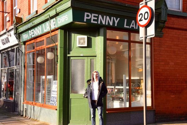 Winkeltje in Penny Lane