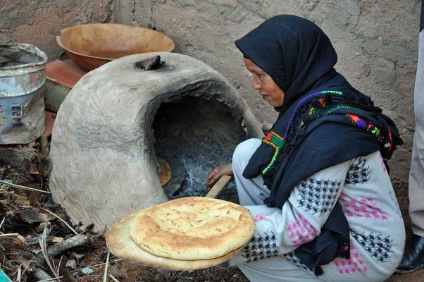 Broodbakken op traditionele wijze