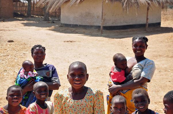 Een gezin in Mpalale