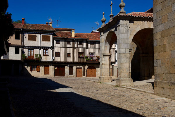 Centrum van La Alberca