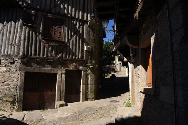 Typische huizen in La Alberca