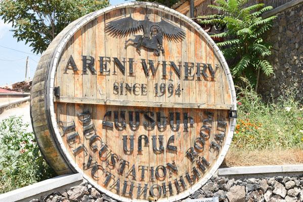 Onderweg naar Noarvank passeer je het bekende wijndomein van Areni