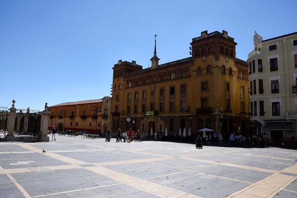 Het plein voor de kathedraal