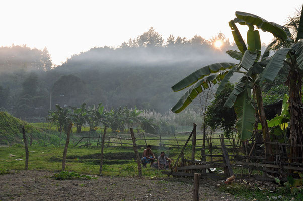ergens in de Chittagong Hill Tracts