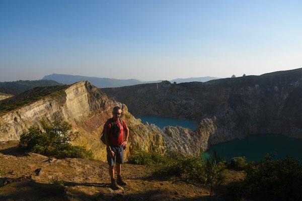 Drie kratermeren: Tiwu Ata Mbupu - Tiwu Nuwamuri Koofai - Ata Polo Tiwu