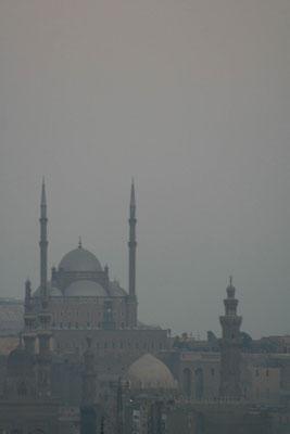 Zicht op de Citadel van Caïro