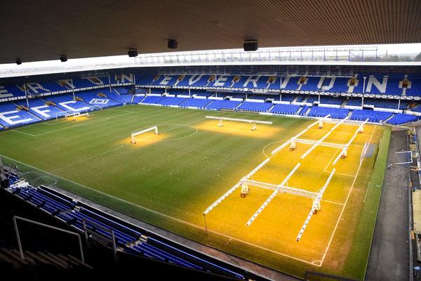 Bovenaanzicht op het stadion