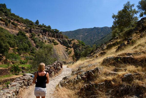 Op wandel in dit prachtig stukje Spanje - onbekend maar zeer mooi.