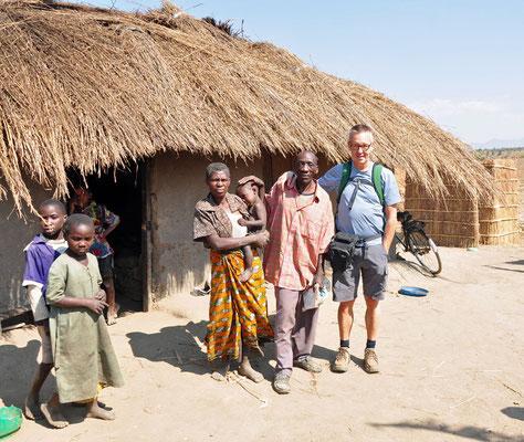 Deze familie verleende ons toegang in hun bijhuis voor het nuttigen van onze lunch. Gastvrijheid ten top.