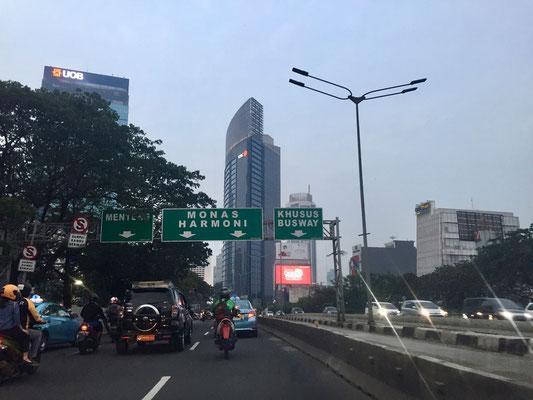 Aankomst in Jakarta