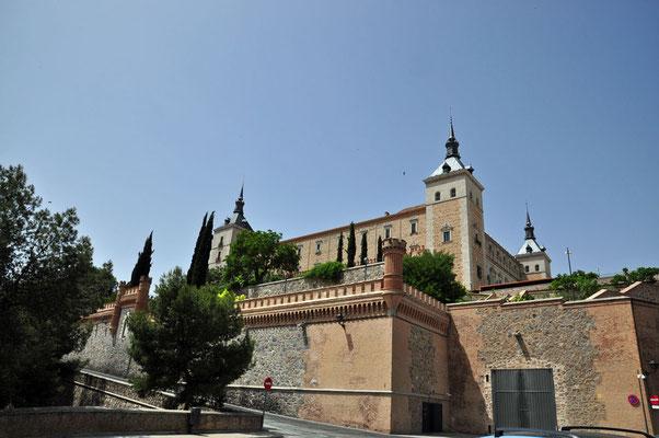 het 'Alcázar' dat de stad domineert