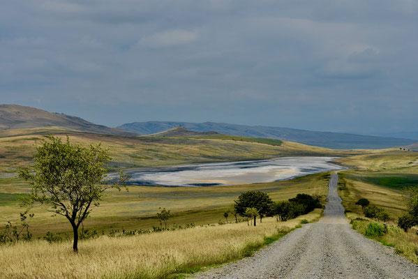 Prachtig landschap nabij Davit Gareja