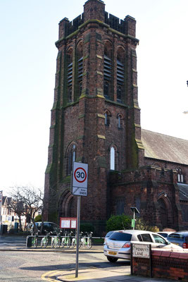 Saint Barnabas church aan Penny Lane