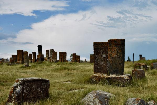Noratus kerkhof: hier vind je hele mooie khachkars