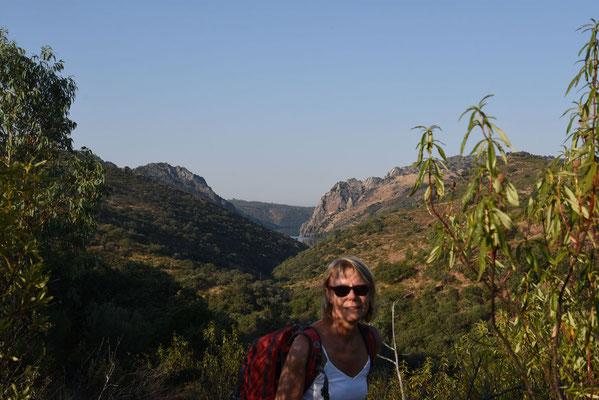 Op weg naar Cerro Gimio
