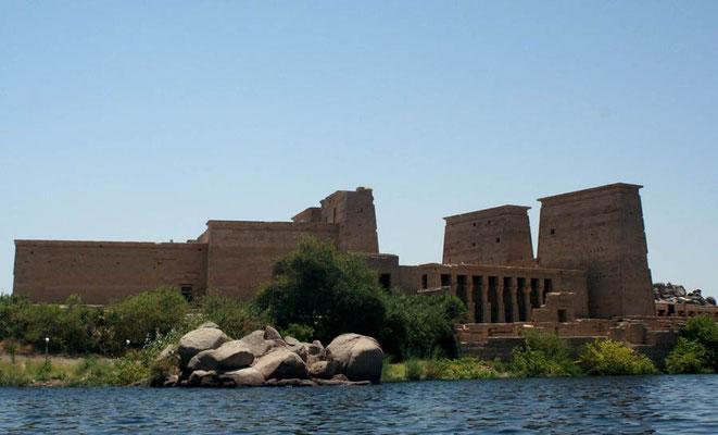 Philae tempel of de tempel van Isis