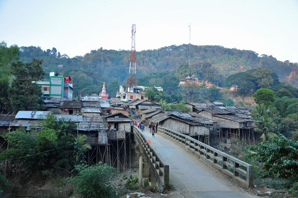 Ruma, dorp in de CHittagong Hill Tracts