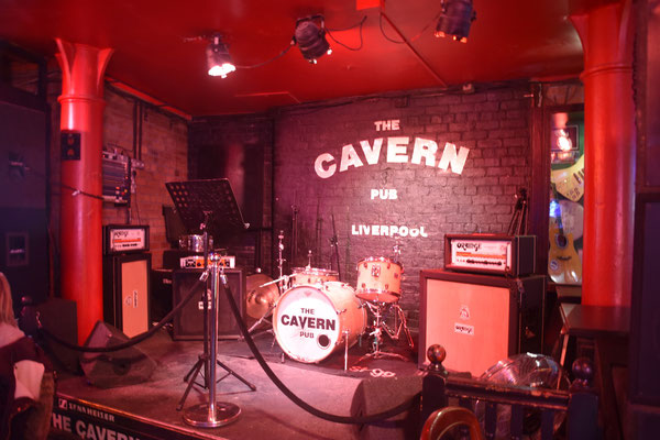 Podium in 'The Cavern Pub'