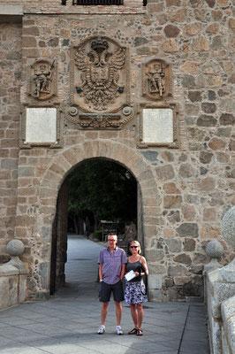 Puerta del Canbrón - een van de toegangspoorten tot de oude stad
