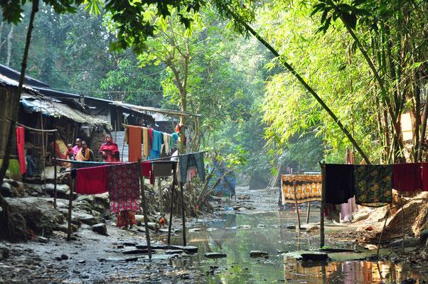 Hill Tribe dorp van de Tripura