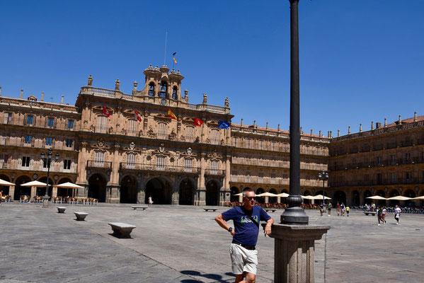 Het prachtige 'Plaza Mayor' van Salamanca