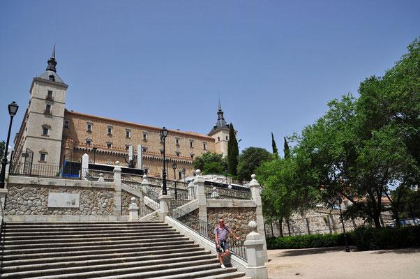 Zicht op 'Alcázar'