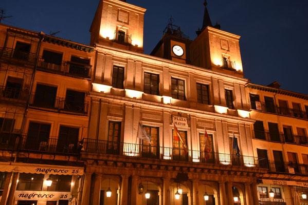 het stadshuis op de Plaza Mayor