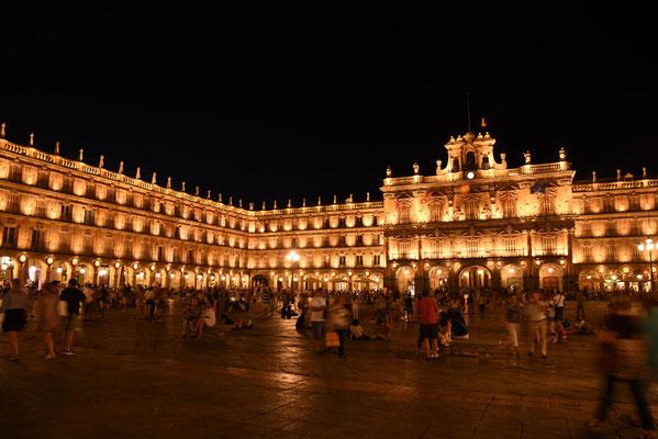 Avond op het Plaza Mayor