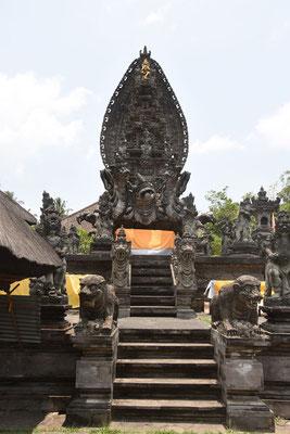Binnenplein van Balinese tempel