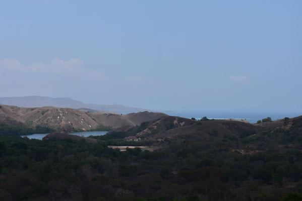 Het eiland Rinca