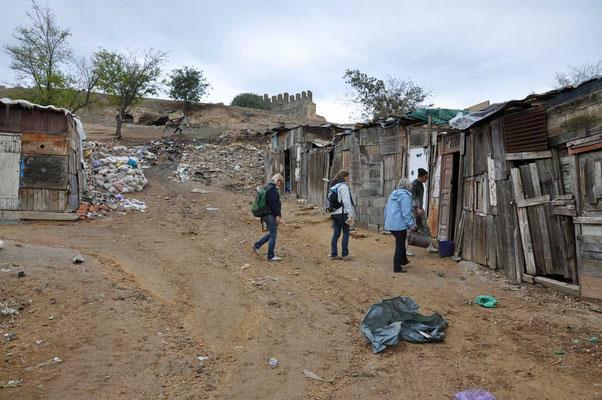 De arme bovenwijken van Fès