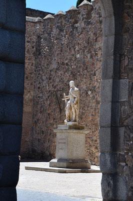 standbeeld van 'Carlos V'