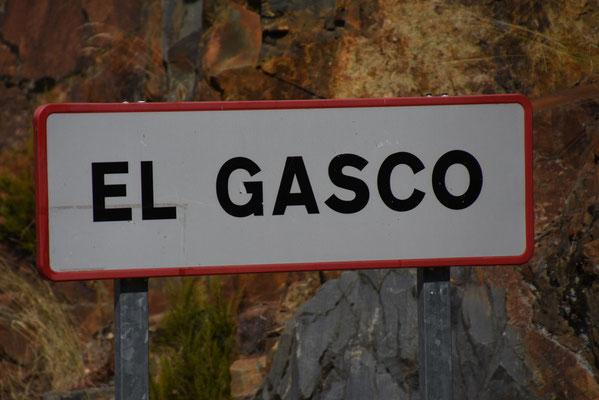 De weg naar het einde van de wereld 'El Gasco'. Hier eindigt de weg in prachtig natuurschoon
