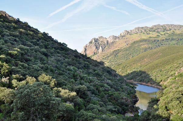 p weg naar Cerro Gimio