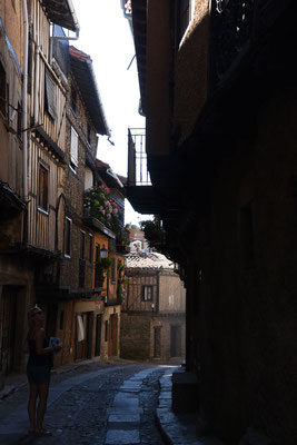 Typisch straatje in het bergdorp