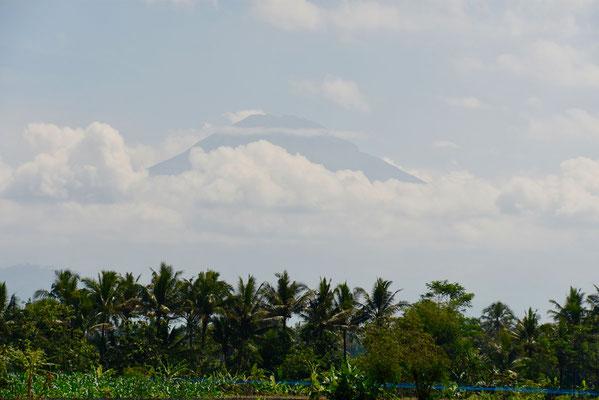 De 'Merapi' vulkaan - de actiefste vulkaan van Java