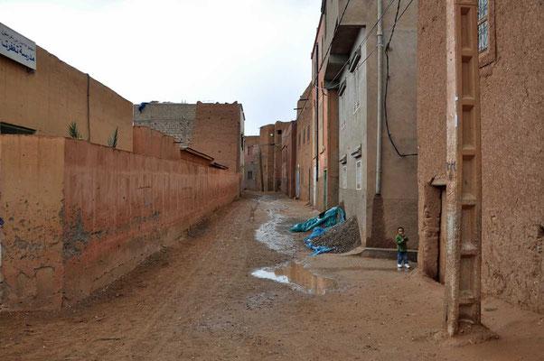 De eenvoudige straten in Tighfert