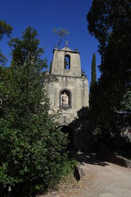 Toegangspoort naar Monasterio del Desierto de San José de las Batuecas.