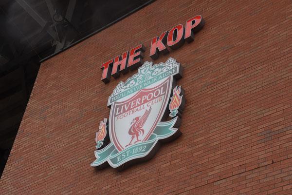 De legendarische 'kop' van Liverpool