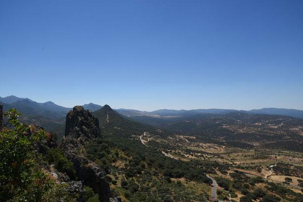 Prachtig zicht op Las Villuercas