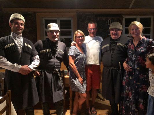 Kennismaking met een Svan-koor
