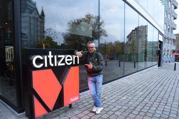 Ons hotel recht tegenover de Markthal: citizenM
