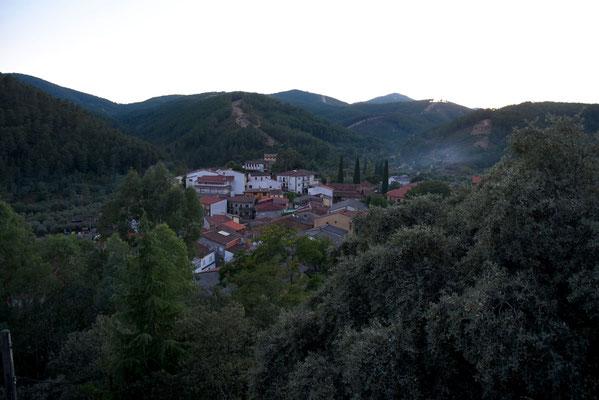 Las Mestas - dorpje waar we verbleven