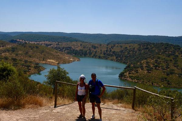 Tijdens de wandeling 'Fuente Tres Canos'