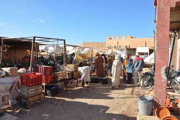 De markt in Tinjedad