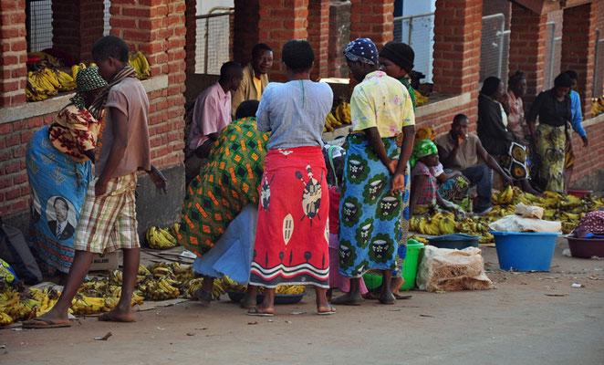 Bananenmarkt in Zomba