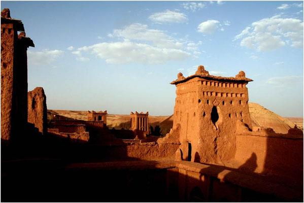 De beroemde Kasbah van Aït Benhaddou