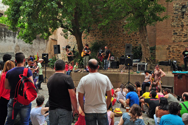 'womad' festival in Cacéres
